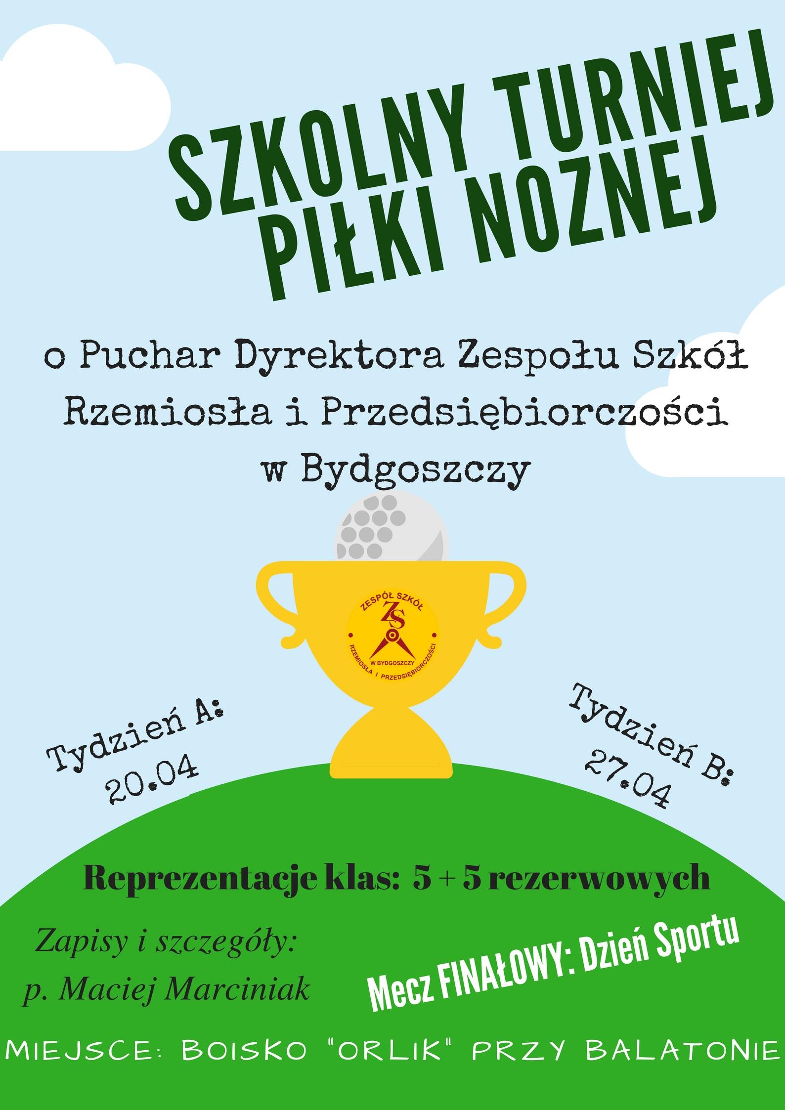 Szkolny Turniej Piłki Nożnej(1)
